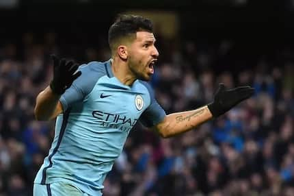 Boost for Manchester City as Sergio Aguero resumes training after horrific accident